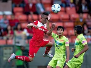 Toluca, con Christian Cueva de titular venció 3 a 1 al Zacatepec