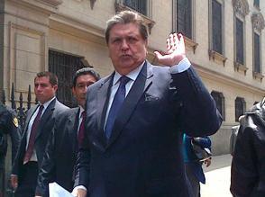 Informe contra Alan García irá