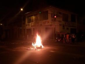 Iquitos: grupo de pobladores ataca local de partido Fuerza Popular