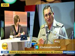 Designan al general Vicente Romero como nuevo director de la PNP