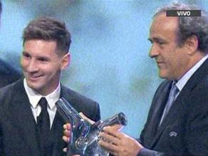 UEFA: Messi vuelve a derrotar a Cristiano y es elegido 'mejor jugador de Europa'