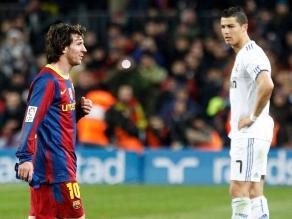 Messi 'trollea' a Cristiano Ronaldo en plena gala de la UEFA