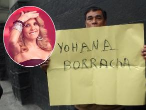 Johanna San Miguel es insultada en las calles