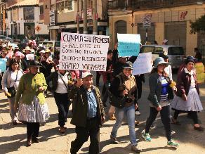 Huancayo: padres del colegio Ramiro Villaverde exigen presupuesto