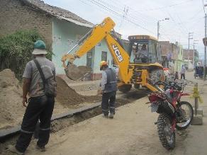 Lambayeque: obra de agua en 142 caseríos de Olmos está paralizada