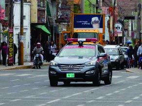 Huaral: llegan patrulleros inteligentes para combatir la delincuencia