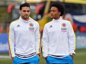 José Pékerman no convocó a Radamel Falcao ni a Juan Cuadrado para jugar con Perú