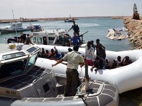Cientos de víctimas al hundirse dos barcos frente a las costas de Libia