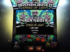 Iron Maiden lanza videojuego Speed of Light