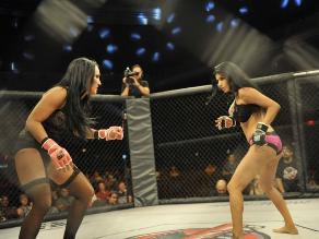 MMA: Luchas en lencería son un furor en Estados Unidos