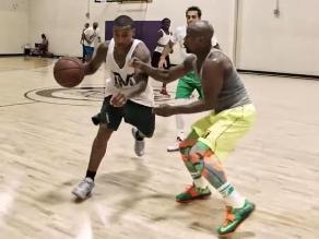 YouTube: Floyd Mayweather fue 'noqueado' por jugador de los Boston Celtics