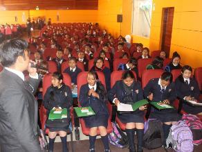 Huancayo: más de 300 escolares participaron en curso de periodismo