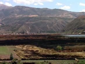 Cusco: incendio forestal consume humedal del Huacarpay