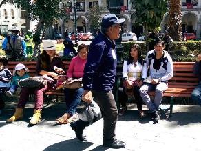 Arequipa: hallan palomas muertas en pleno centro de la ciudad