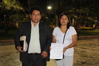 Áncash: acusada de agresión a Humala pide a Fiscalía que la citen