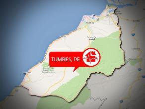 Sismo de 4.0 grados de magnitud se registró en Tumbes