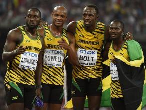 Mundial perfecto para Usain Bolt: Ganó tercer oro en la posta 4x100