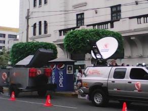 Chiclayo: durante el FEN usarán moderno vehículo de comunicaciones