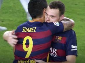 Barcelona vs. Málaga: Thomas Vermaelen anotó tras una temporada sin jugar