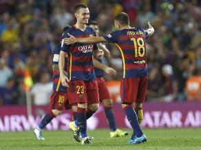 Barcelona ganó con lo justo al Málaga gracias a gol salvador de Vermaelen