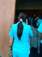 WhatsApp: realizan fiesta en Hospital del Minsa en horario de atención