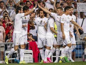 Real Madrid goleó 5-0 al Real Betis con Juan Vargas los noventa minutos