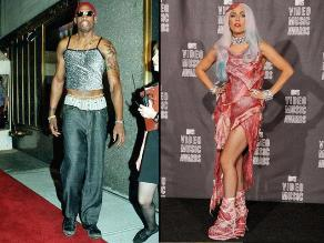 VMAs 2015: Los 10 vestidos más escandalosos de la historia