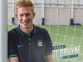 Kevin De Bruyne fichó por el Manchester City a cambio de 75 millones de euros