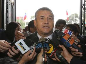 Urresti: El mejor candado contra el narcotráfico es no votar por García