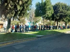 Arequipa: congresista Apaza critica plan