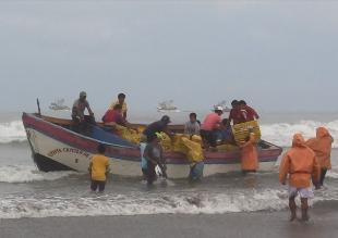 Lambayeque: oleajes anómalos retrasaron construcción del desembarcadero