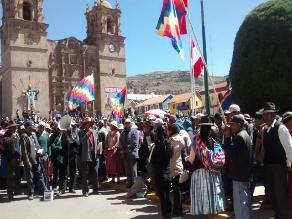 Puno: exigen renuncia de gobernadora distrital de Zepita