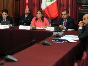 Comisión recomienda investigar a Belaunde y Heredia por lavado de activos