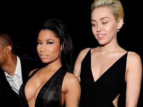 VMAs: Nicki Minaj insultó en vivo a Miley Cyrus