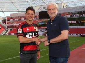 Bayer Leverkusen: 'Chicharito' Hernández ficha por cuadro alemán