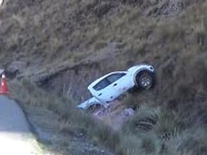 La Oroya: despiste y vuelco de camioneta deja un muerto y 4 heridos