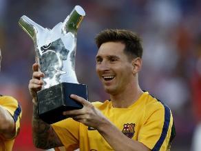 Twitter: Atleta paralímpico bromea sobre el trofeo que ganó Messi