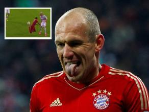 Bayern Munich: Arjen Robben calificó de circense la bicicleta de Douglas Costa