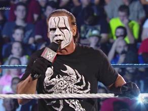 WWE: Sting planea arrebatarle el cinturón a Seth Rollins