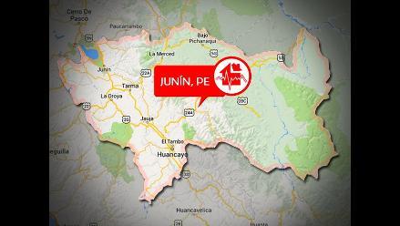 Sismo de 4.7 grados de magnitud se registró en Junín