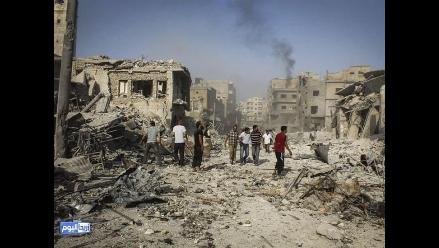 Al menos 4.830 personas murieron en agosto en el conflicto sirio