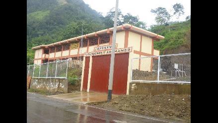 Bagua: firman convenio para construcción de nuevo colegio de nativos