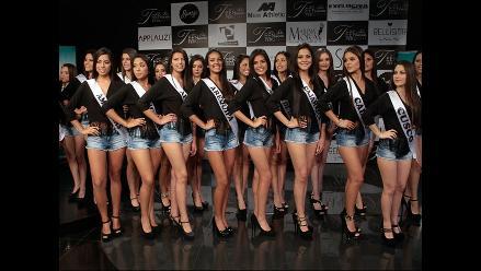 Miss Teen Model Perú 2015: Marina Mora presentó a candidatas