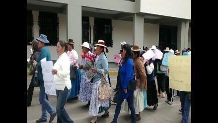 Puno: alumnos de María Auxiliadora se movilizaron por nuevo local