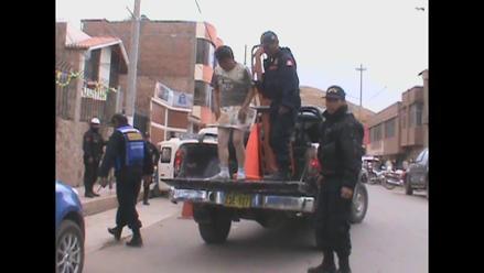 Puno: casi linchan a presunto ladrón de autopartes en Juliaca