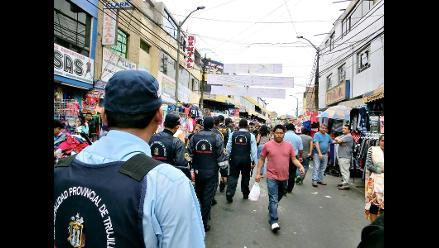 Trujillo: municipalidad no da tregua a los ambulantes informales
