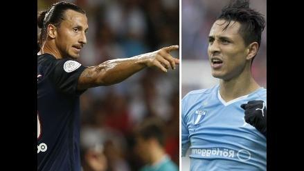 Zlatan Ibrahimovic habló del duelo con el Malmö de Yoshimar Yotún