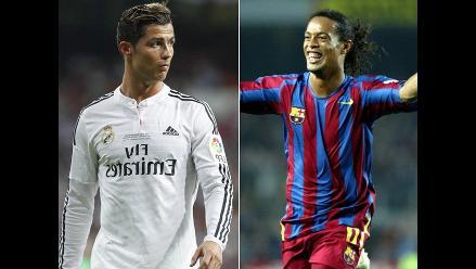 Cristiano Ronaldo vs. Ronaldinho: Así juegan las estrellas del balompié mundial