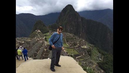 Edgar Vivar regresó a Machu Picchu después de 34 años