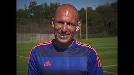 YouTube: Arjen Robben presentó camiseta del Sport Recife de Brasil